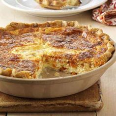 Tomato Quiche Recipe from Taste of Home -- shared by Heidi Anne Quinn of West Kingston, Rhode Island