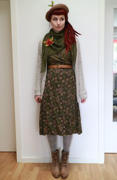kaninchenherz Patterned Tights, High Neck Dress, Dresses, Fashion, Bunnies, Turtleneck Dress, Vestidos, Moda, Fashion Styles