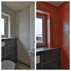 Volimea in Rot, Volimea im Bad und WC - Maler Heyse ist Spezialist in und um Hannover