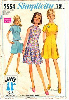 4549 UNCUT Vintage Butterick SEWING Pattern Shirt Top Skirt Pants OOP NEW SEW FF