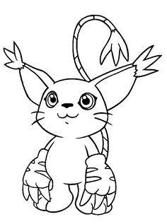 Digimon Coloring Page   Coloring Pages of Epicness   Pinterest ...