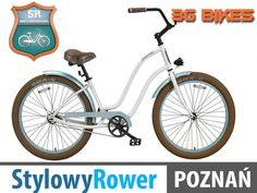 3G miejski USA Newport CRUISER rower ALUMINIOWY
