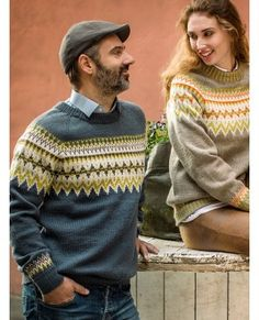 """Lofoten"" unisex XS-XXL skifer Best Suits For Men, Cool Suits, Mens Suits, Man Crafts, Fair Isle Knitting, Lofoten, Knit Fashion, Vintage Knitting, Fair Isles"