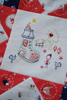 Oh my!! Childs story quilt