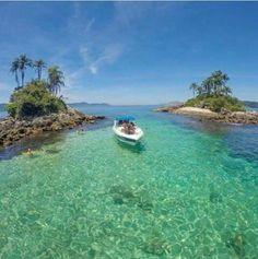 Ilhas Botinas, em Angra dos Reis-RJ⚓