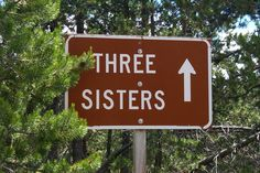 The Three Sisters, Oregon. Must get a sign like this. Love My Sister, Dear Sister, I Love Girls, Cousin, Sister Poems, Sister Quotes, Sister Gifts, Sisters Forever, Friends Forever