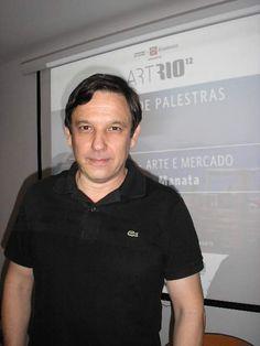 """Franz Manata apresenta a palestra """"Arte e Mercado"""" no Pólo de Pensamento Contemporâneo (POP)"""
