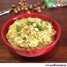Nussreis - Rezept  der Nussreis ist eine sehr leckere Beilage - nicht nur im November :) vegetarisch glutenfrei