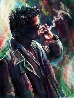 Tyler Durden. by ex0tique.deviantart.com on @deviantART