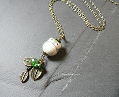 Kette Eule von Happy-about- Pearls auf DaWanda.com
