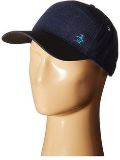 64f357be61a66 Original Penguin Melton Wool Baseball Cap Baseball Caps - ShopStyle Hats