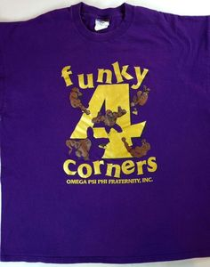 Funky 4 Corners Omega Psi Phi Fraternity T-Shirt Mens 2XL Purple XXL Cotton Tee http://www.ebay.com/itm/Funky-4-Corners-Omega-Psi-Phi-Fraternity-T-Shirt-Mens-2XL-Purple-XXL-Cotton-Tee-/262385526630?roken=cUgayN&soutkn=5wQ2hy #frat #fratparty #party #bigman