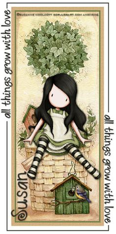 """All Things Grow With Love"" Suzanne Woolcott 