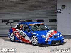 Subaru Impreza WRX STi time attack car
