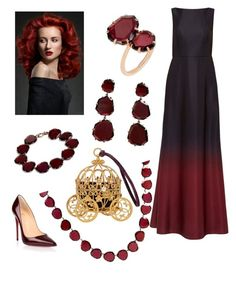 """""""Dramatic Ombre"""" by dayna-marie on Polyvore featuring Ted Baker, Christian Louboutin, Annoushka, ombre and 60secondstyle"""