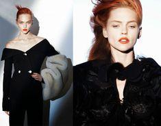 Sasha Pivovarova David Sims Vogue Paris August 2014