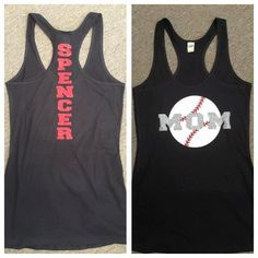 Womens Baseball Tank by LoveBucketBoutique on Etsy