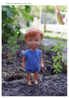 Scrub off the make-up and find the real little kids underneath - Bratz dolls have been remade by a Tasmanian artist as Tree Change Dolls