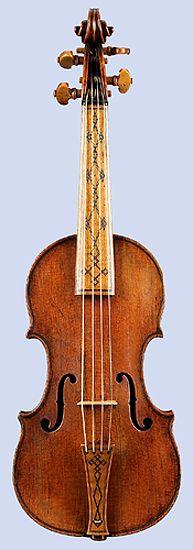 Violino Piccolo by Girolamo Amati, Cremona, 1613