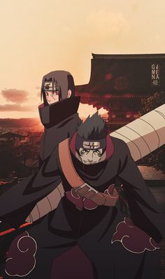 Naruto Shippuden: Itachi and Kisame ART in real ambient
