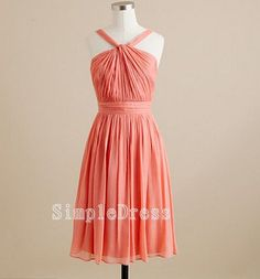 Beach Sleeveless Knee-length Chiffon Sashes Fashion Bridesmaid/Evening/Party/Homecoming/Prom/Cocktail Dress 2013 New Arrival