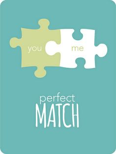 free journaling card    perfect match puzzle pieces
