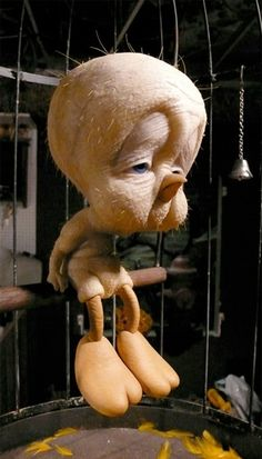 "what""s wrong with ya Tweety? ugggh!lol"