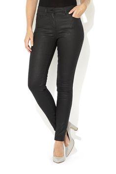 Petite Coated Skinny Jean