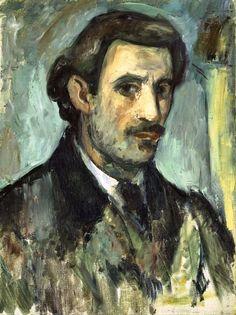 Arshile Gorky - Self-Portrait, 1927–28. Art Institute Chicago, IL, USA
