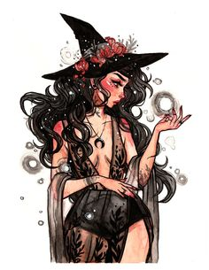 Hat Witch Drawing Halloween Ideas For 2020 Art Sketches, Art Drawings, Drawing Faces, Pencil Drawings, Witch Drawing, Magic Drawing, Drawing Tips, Art Mignon, Witch Art