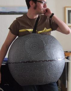 Become Your Own Space Station With This Star Wars Death Star Costume | Walyou