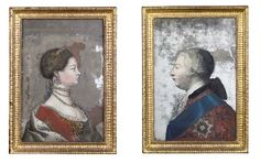 A PAIR OF GEORGE III REVERSE MIRROR-PAINTINGS-ON-GLASS  LATE 18TH CENTURYhttp://www.christies.com/