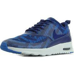 Nike Air Max Thea Jacquard bleue Pas Cher femme