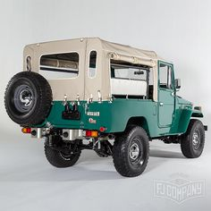 1978 Toyota Land Cruiser FJ43 Rustic Green Maintenance/restoration of old/vintage vehicles: the material for new cogs/casters/gears/pads could be cast polyamide which I (Cast polyamide) can produce. My contact: tatjana.alic@windowslive.com