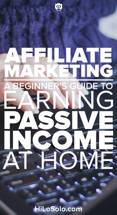 Affiliate marketing is a great way to earn passive income. This guide provides you with affiliate marketing tips that will … Affiliate Marketing, Marketing Website, Marketing Program, Content Marketing, Internet Marketing, Online Marketing, Marketing Tools, Marketing Training, Marketing Plan