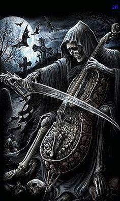 Вызывающий ужас скелет в мрачном балахоне, размахивающий косой, среди европейских народов известен под именем Ангела Смерти. Марк Чорвински, известный в США исследователь странных и необычных явлений, уверен, что Ангел Смерти не метафора и не аллегория, а реальное создание.