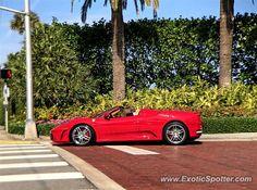 Ferrari F430 spotted in Palm Beach, Florida