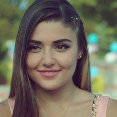 Art Photography Portrait, Hayat And Murat, Pretty Asian Girl, Hande Ercel, Turkish Beauty, Turkish Actors, Best Actress, Dimples, Most Beautiful Women