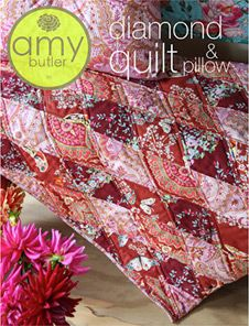 Amy Butler's Diamond Quilt & Pillow now available as a PDF download!