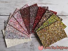 Mini Sample Set Delilah Super Premium Chunky Glitter Faux Leather Sheets, x 4 inches Fabric Sheet, Glitter Canvas, Earrings Supplies. Glitter Canvas, Glitter Fabric, Chocolate Ice Cream, Leather Sheets, Vinyl Sheets, Violet, Scrapbook, Etsy Shop, Crafty