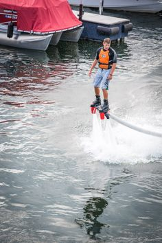 Have you tried the Flyboarding yet??  Well, now you can at Momma's Market ... it's just one MORE Way to have FUN at Momma's this summer!! www.mommasmarket55.com Waterfront restaurant at Lake of the Ozarks