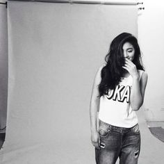 Black and White Picture of Nadine Lustre but it still hot Nadine Lustre, Lady Luster, Filipina Actress, James Reid, Jadine, Loveless, Coming Soon, Black And White Pictures, Girl Crushes