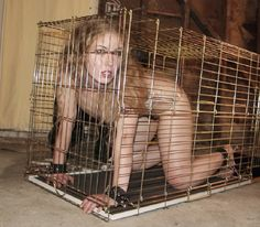 caged girls naked and horny