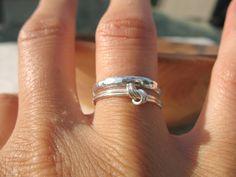Sterling Silver Knot Ring   Wear It Jewelry