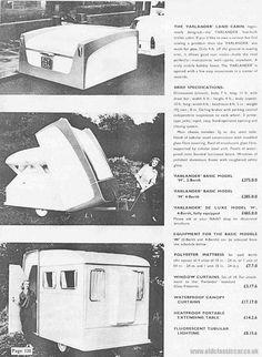 Farlander Land Cabin brochure