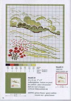 Schema punto croce Prato