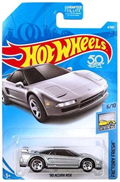 2018 Hot Wheels 50 th Anniversary Factory Fresh Series Silver Acura NSX Diecast model Toy Vehicle Festa Hot Wheels, Hot Wheels Case, Kids Bedroom Organization, Pow, Ford Mustang Boss, Acura Nsx, Train Layouts, Small Cars, Diecast Models