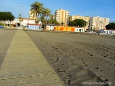 View from near the end of the longest concrete path Concrete Path, Lead The Way, Water Me, Seaside Towns, Malaga, Paths, Beach, Outdoor, Towers