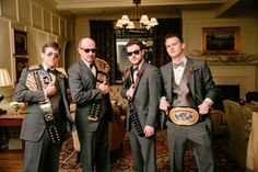 A wrestling-themed wedding worthy of a championship belt! | Bamber Photography