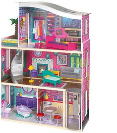 Her Barbie House